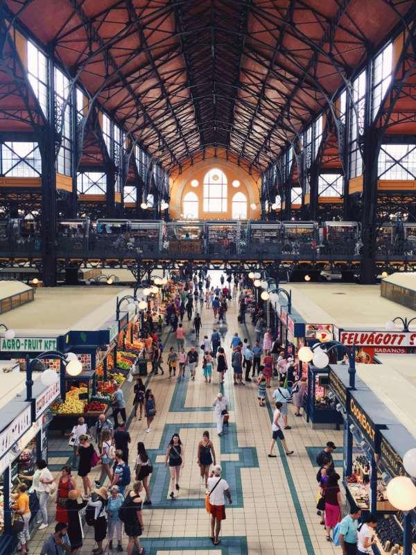 Centralna pokrita tržnica v Budimpešti