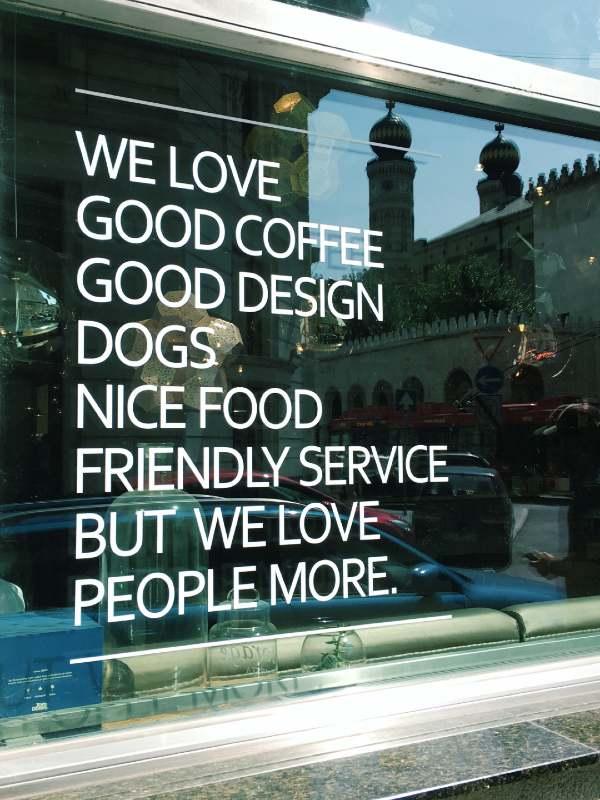 Kavarne v Budimpešti