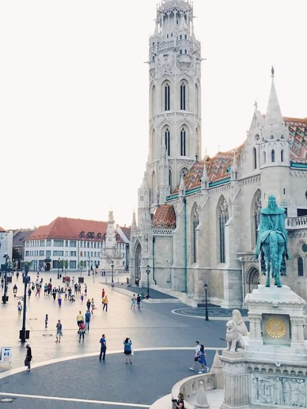 Matijeva cerkev Budimpešta