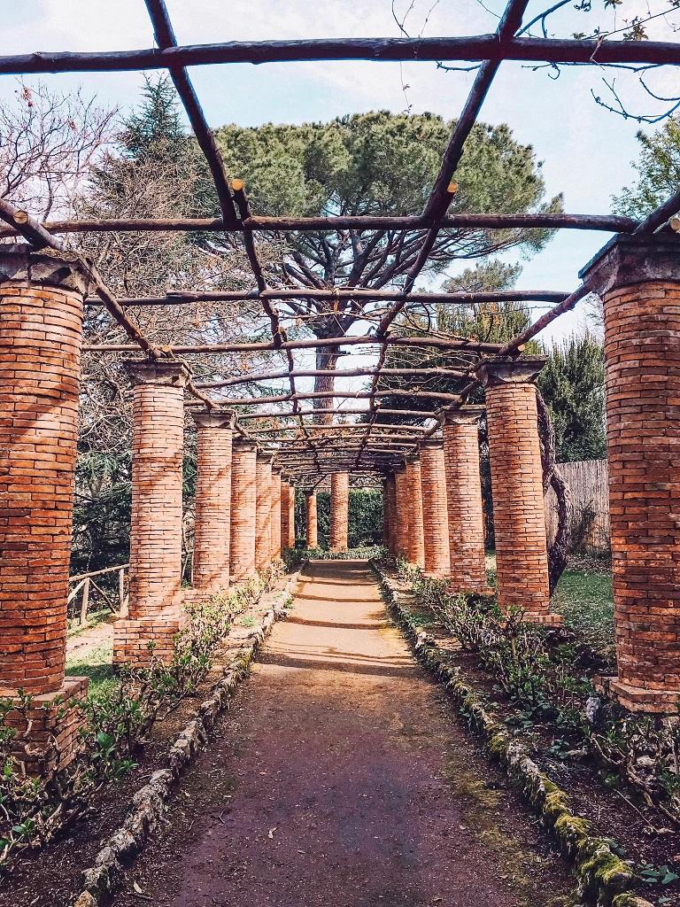 Villa Cimbrone - pergola