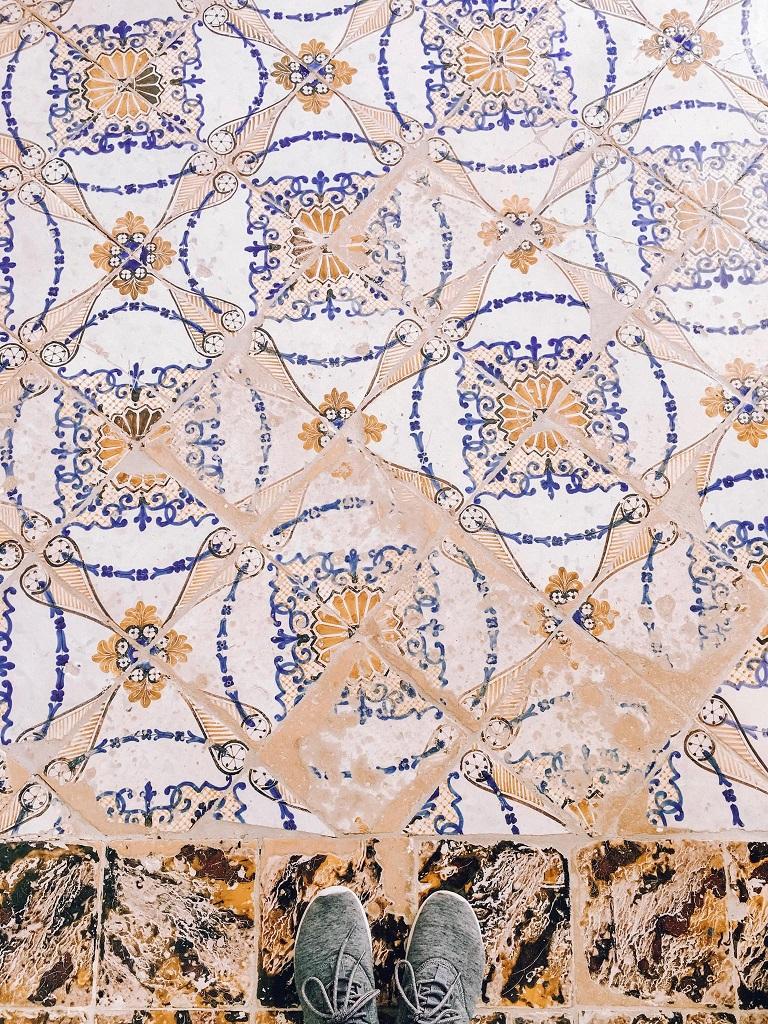 Villa Rufolo, keramične ploščice - čudovite vile in vrtovi Ravella