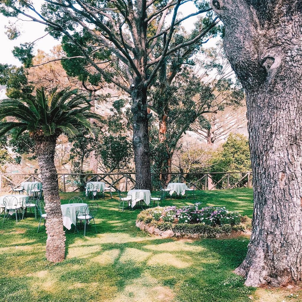 Villa Cimbrone - čudoviti vrtovi in kavarnica