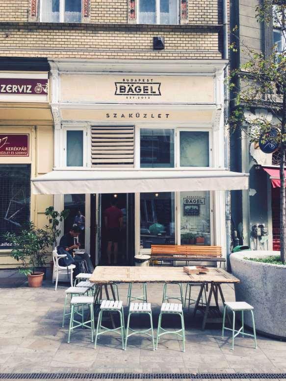 Budapest Bagel - lokal s kruhki bagel